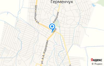 Местоположение на карте пункта техосмотра по адресу Респ Чеченская, г Шали, пер А.Кадырова