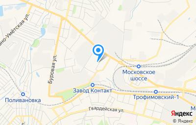 Местоположение на карте пункта техосмотра по адресу Саратовская обл, Балаковский р-н, с Новополеводино, ул Новый поселок