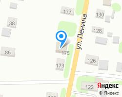 Схема местоположения почтового отделения 607491