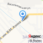 Эконом-авто на карте Саратова