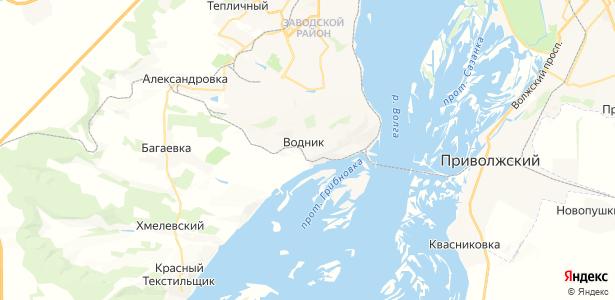 Водник на карте