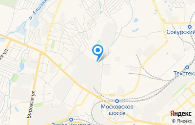 Местоположение на карте пункта техосмотра по адресу г Саратов, мкр Елшанка, ул Автокомбинатовская, влд 15