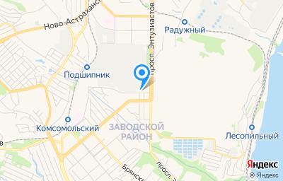 Местоположение на карте пункта техосмотра по адресу г Саратов, ул Васильковская, зд 5А