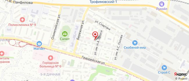 Карта расположения пункта доставки Саратов им Зои Космодемьянской в городе Саратов