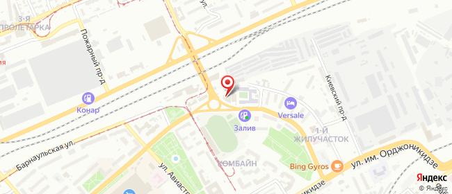 Карта расположения пункта доставки СИТИЛИНК в городе Саратов