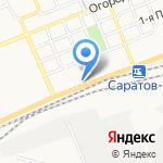 Винавто на карте Саратова