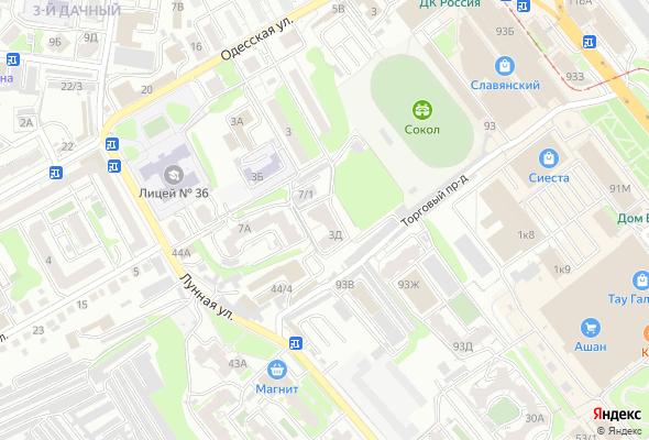 жилой комплекс ул.Одесская, 3Д
