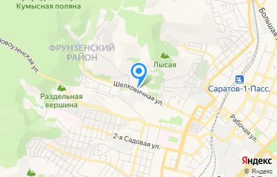 Местоположение на карте пункта техосмотра по адресу г Саратов, пл Дружбы народов