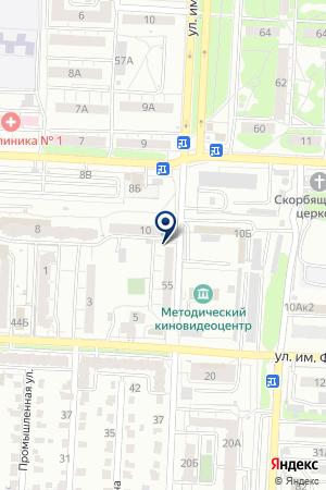 Ассоциация ТСЖ Ленинского района на карте Саратова