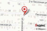 Схема проезда до компании Престиж в Новолуговом