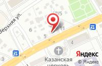 Схема проезда до компании Аура в Астрахани
