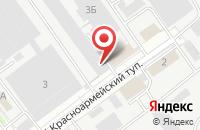 Схема проезда до компании ЭЛЕКТРОПРИБОР КБ в Красноармейске
