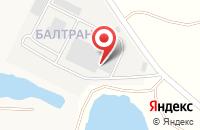 Схема проезда до компании Scania в Бартоломеевском