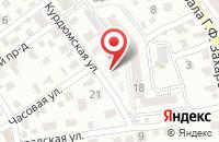 Схема проезда до компании ТД-Универсальные Машины в Новогусельском