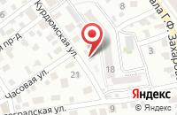 Схема проезда до компании Motul эксперт в Новогусельском