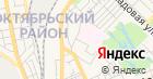 Продуктовый магазин на Станционном 1-м проезде на карте