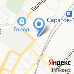 Гарант-Кредит на карте Саратова