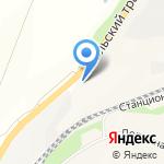 Кирпичный двор на карте Саратова