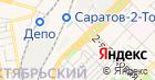 Шиномонтажная мастерская на Астраханской на карте