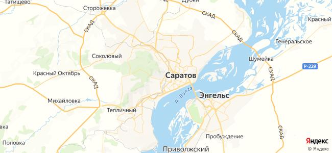 Аткарск - Паницкая электричка в Саратове