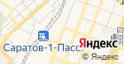 Продуктовый магазин на Аткарской на карте