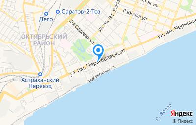 Местоположение на карте пункта техосмотра по адресу г Саратов, ул им Чернышевского Н.Г., д 88