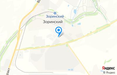 Местоположение на карте пункта техосмотра по адресу Саратовская обл, Саратовский р-н, п Зоринский, промзона Промузел Зоринский