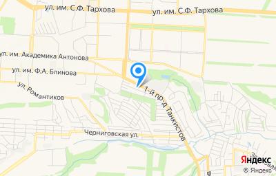 Местоположение на карте пункта техосмотра по адресу г Саратов, тер СНТ Березка