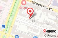 Схема проезда до компании Техпромстрой в Саратове