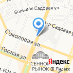 KDL на карте Саратова