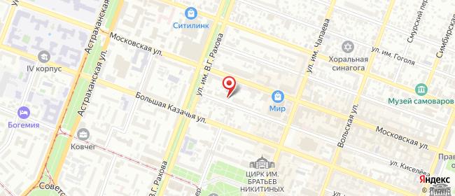 Карта расположения пункта доставки Саратов Киселева в городе Саратов