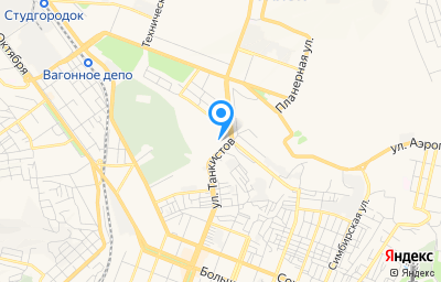 Местоположение на карте пункта техосмотра по адресу г Саратов, мкр 1-й им Пугачева Е.И., д 21В