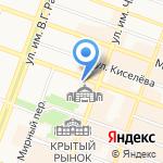 Ермак на карте Саратова