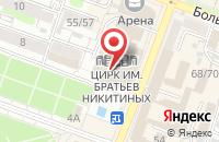 Схема проезда до компании Кубань в Новокубанске