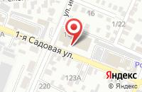 Схема проезда до компании Альфа-запчасть.рф в Саратове