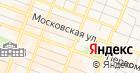 Продуктовый магазин на ул. Киселёва на карте