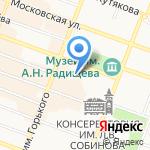 Rabota.ru на карте Саратова