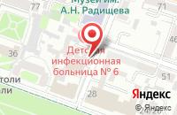 Схема проезда до компании Всероссийское Добровольное Общество «Спортивная Россия» в Саратове