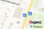 Схема проезда до компании Киоск фастфудной продукции в Приволжском