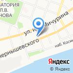 Элвис Премиум на карте Саратова