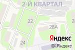 Схема проезда до компании Нотариус Зуева М.В. в Приволжском