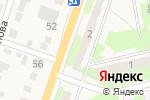 Схема проезда до компании Альфа-Пласт в Приволжском