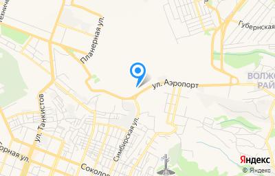 Местоположение на карте пункта техосмотра по адресу г Саратов, ул Аэропорт, д 24Б