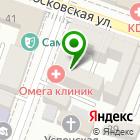 Местоположение компании Omega clinic