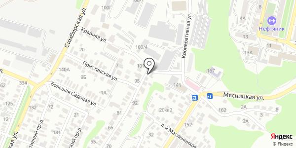 Инко. Схема проезда в Саратове