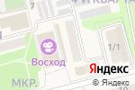 Схема проезда до компании Вариант в Приволжском