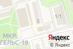 Схема проезда до компании Успех в Приволжском