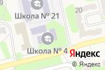 Схема проезда до компании Средняя общеобразовательная школа №4 в Приволжском