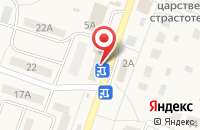 Схема проезда до компании Магнит в Дубках