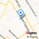 Городская клиническая больница №9 на карте Саратова